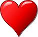 Heart Bullet Point
