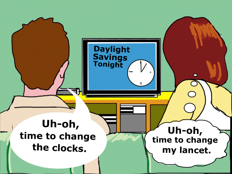 Terry Keelan Cartoon - March 2013 Time Change