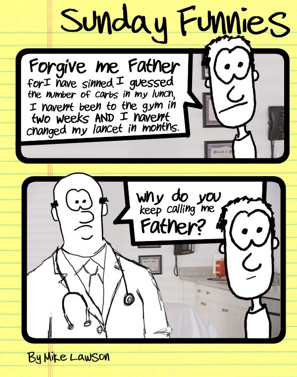 Lawson - Father D cartoon March 2013