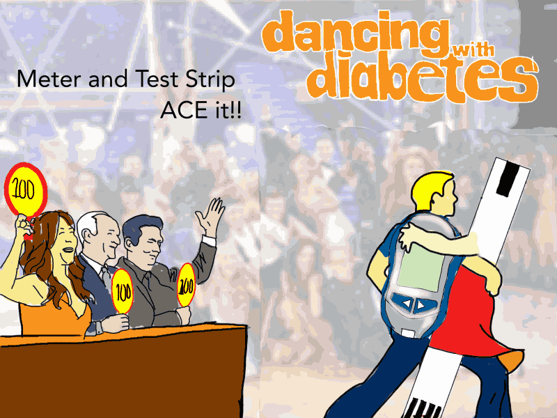 Dancing With Diabetes D-Cartoon