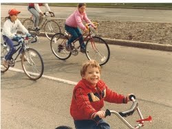 Little Mike Biking
