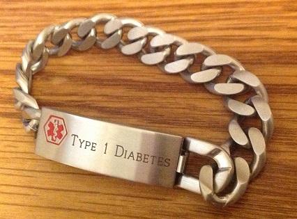 Medical Alert Bracelet Front
