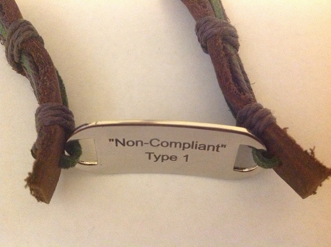 Non-Compliant Medical Alert Bracelet