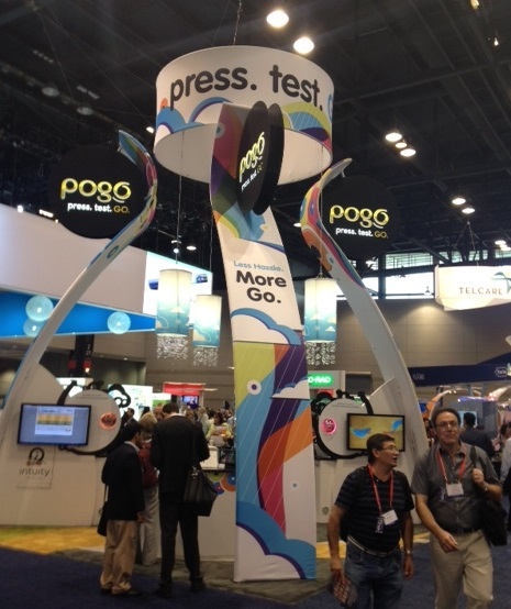 Pogo meter booth