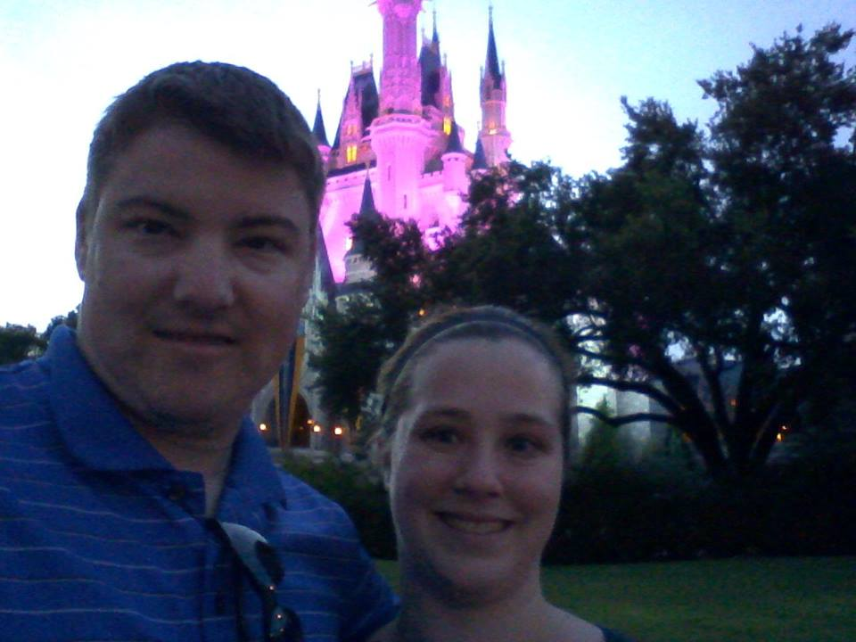 Mike and Suzi at Disney