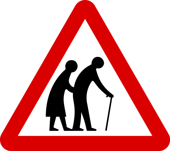 Elderly Sign