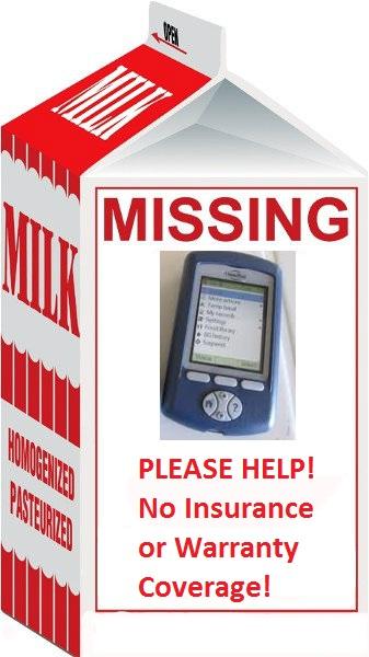 Milk Missing