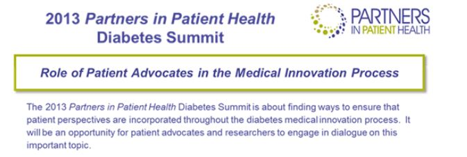 Partners in Patient Health - Sanofi Diabetes Summit