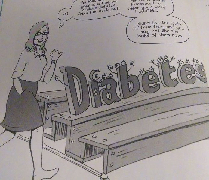 Kim Graphic Novel - Diabetes Watching