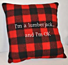 Lumberjack Pillow