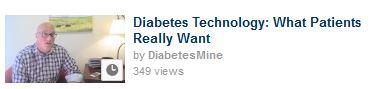 2013 DiabetesMine video thumbnail