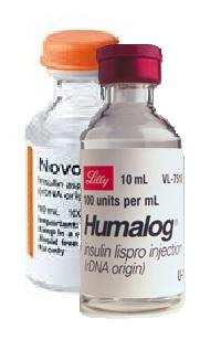Humalog from Novolog