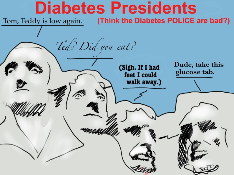 Diabetes Police Presidents -Terry