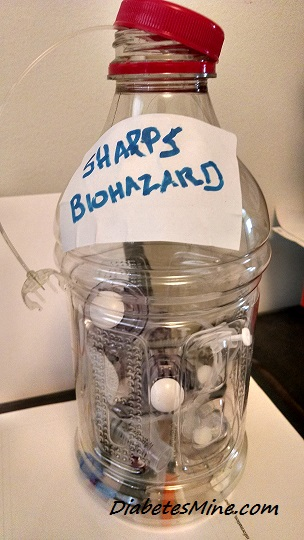 Mike's Homemade Sharps Container