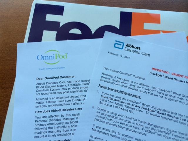 Recall Letters - Abbott