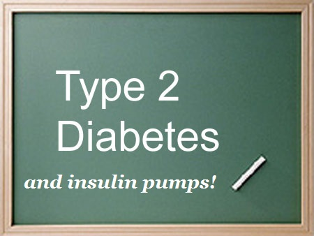 T2D and Insulin Pumps Chalkboard