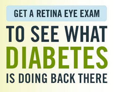 diabetes eye exam
