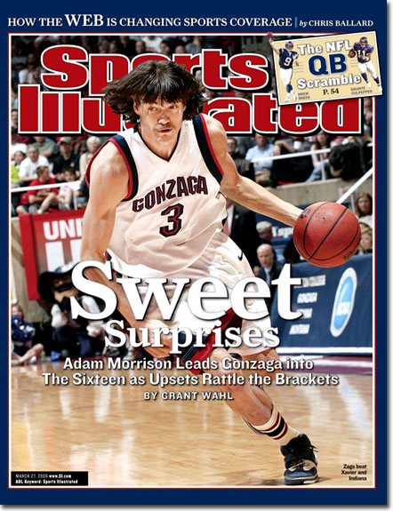 Adam Morrison Sports Illustrated Cover
