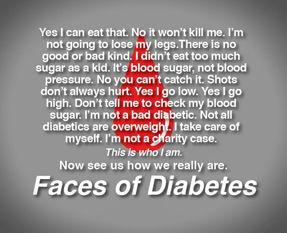 The Faces of Diabetes Image