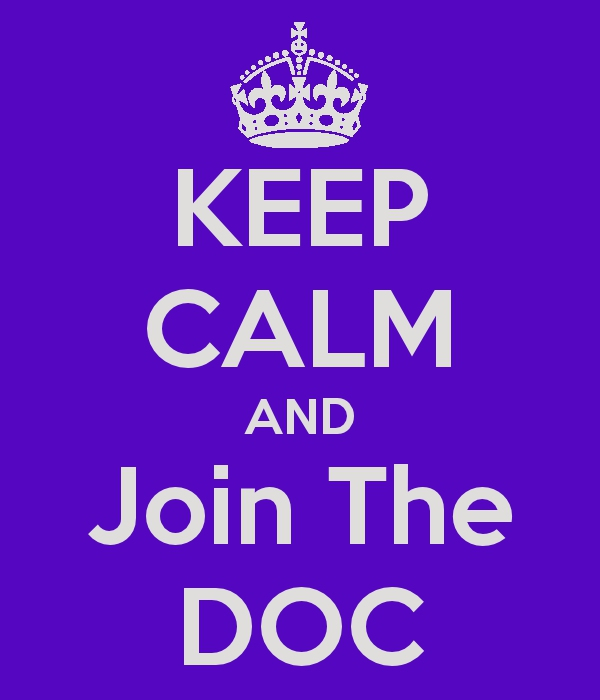 Keep Calm and Join the DOC
