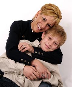 Liz Sacco and son David
