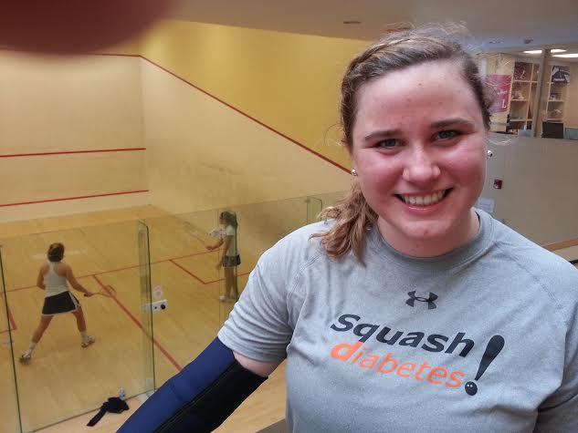 Lucy Gibson Squash Diabetes