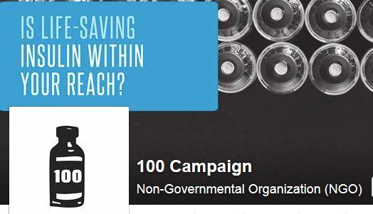 100Campaign logo