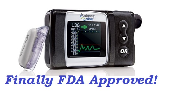 FDA Approved Animas Vibe