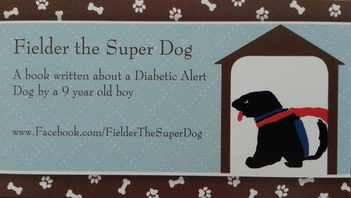 Fielder Super Dog Business Card