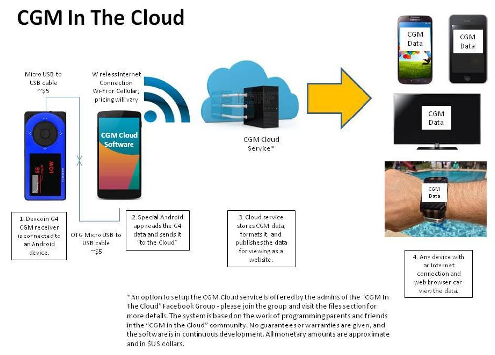 CGM in the Cloud explanation slide