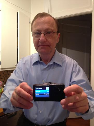 Dan Fleshler with Dexcom G4