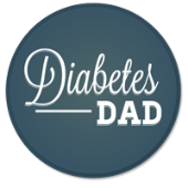 Diabetes Dad Button