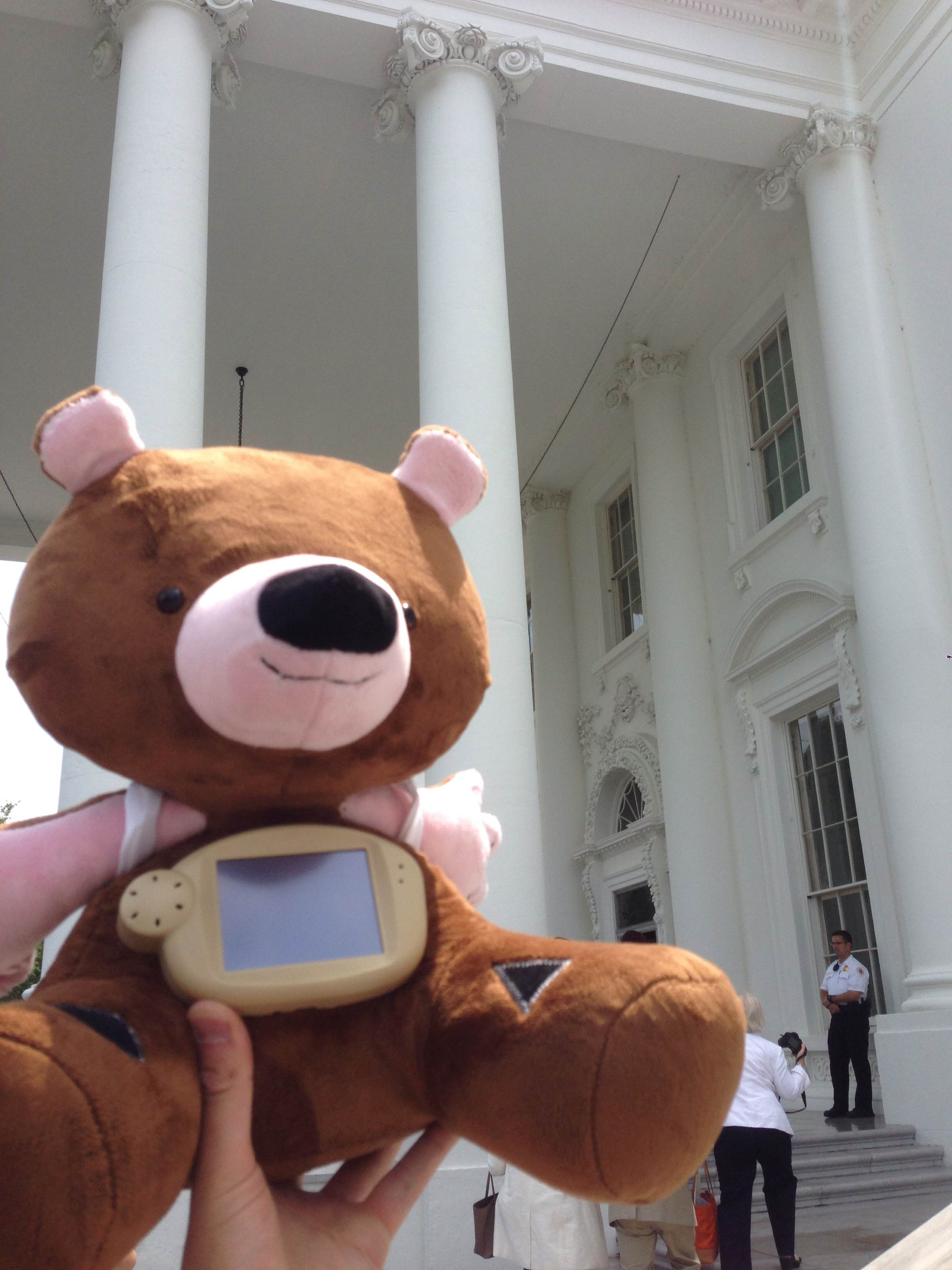 Jerry at the White House