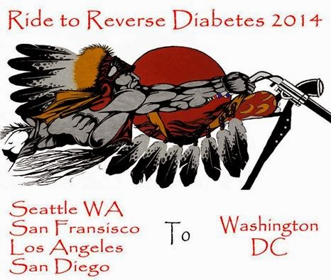 Ride to Reverse Diabetes 2014 logo
