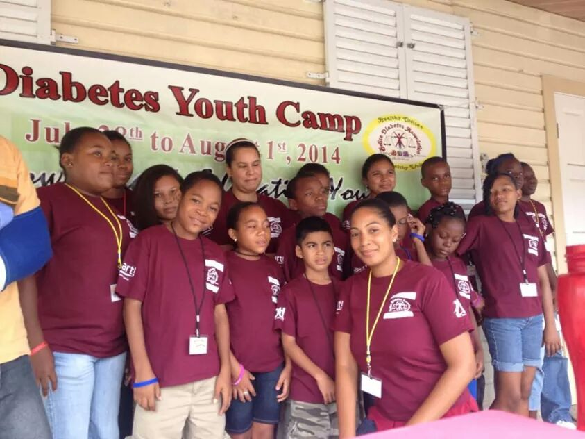diabetes camp in Belize
