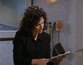 elaine seinfeld medical file