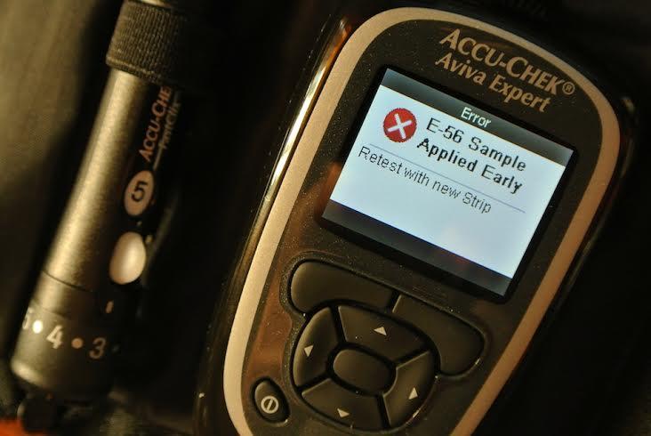 Accu-Chek Aviva Expert E-56 Error