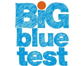 Big Blue Test logo