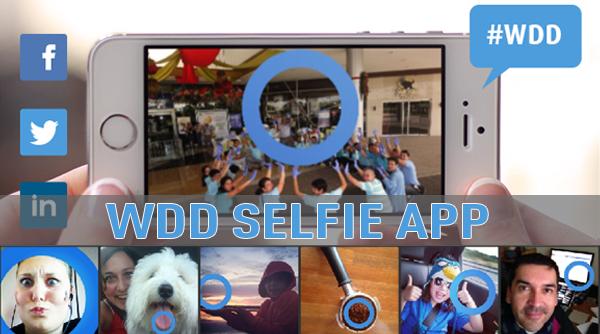 WDD Blue Selfie App