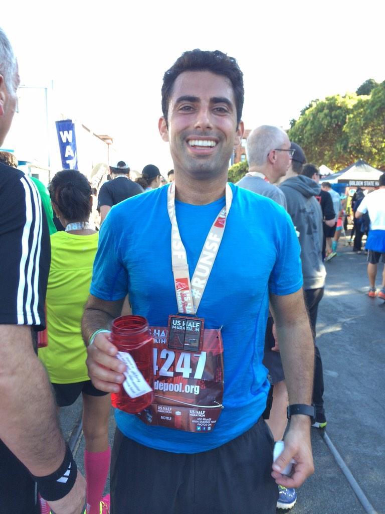 Brandon Arbiter Half-Marathoner