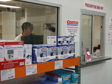 Costco pharmacy shopping