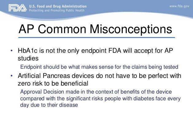 FDA common misconceptions - DiabetesMine