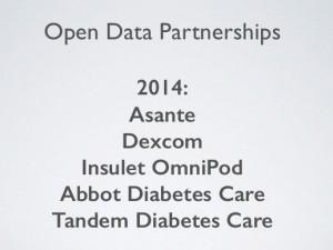 Open Data Partnerships - DiabetesMine