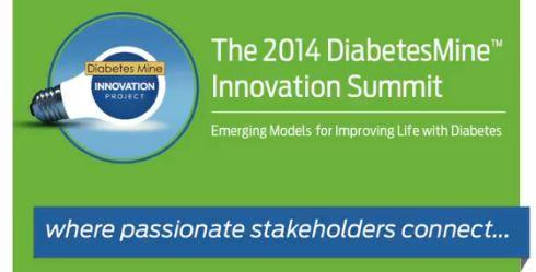 2014 DiabetesMine Innovation Summit - green banner