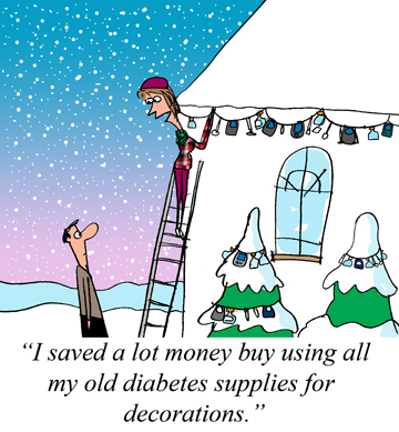 Holiday Diabetes Decorations - Jerry King December 2014