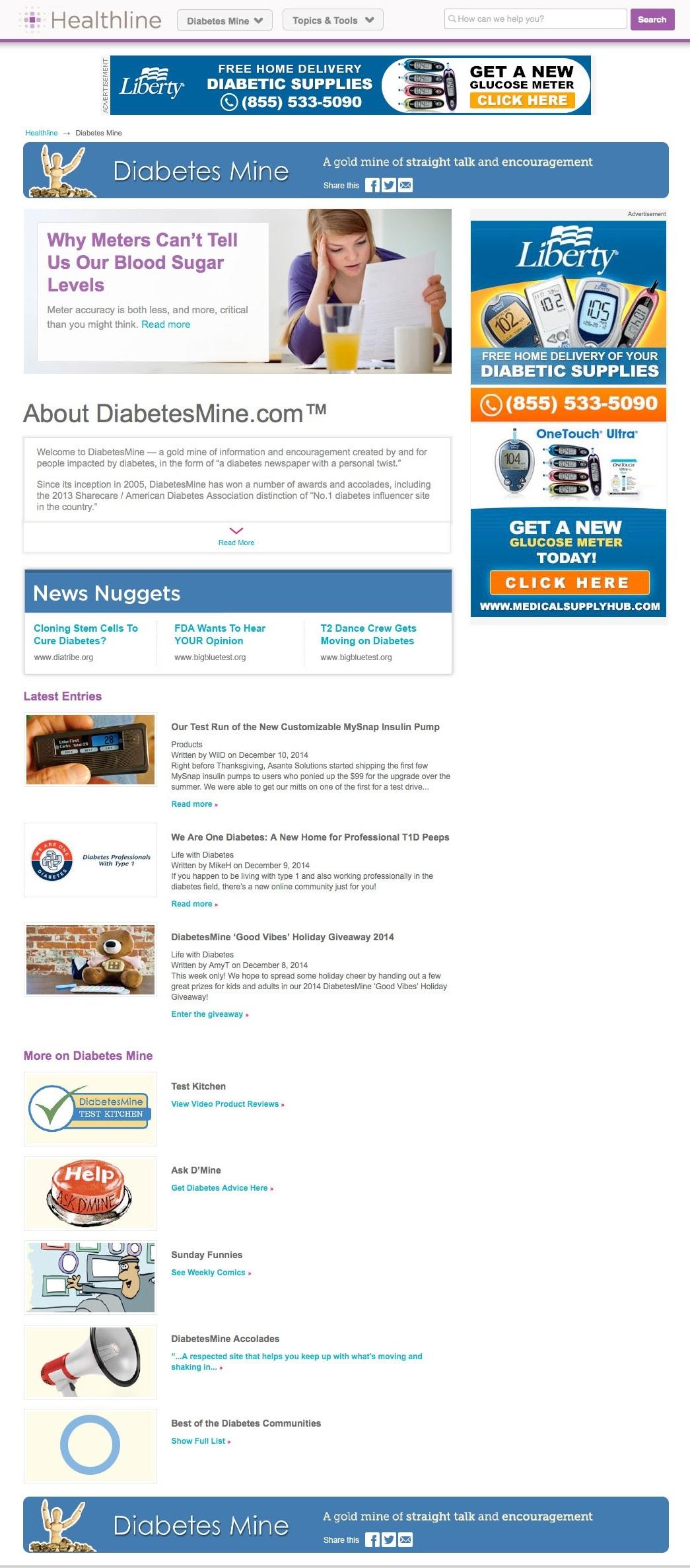 interm-homepage-Healthline-DBMine