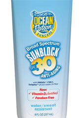 Ocean Potion anti-aging sunscreen.