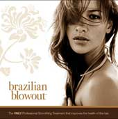 Brazilian Blowout marketing materials.