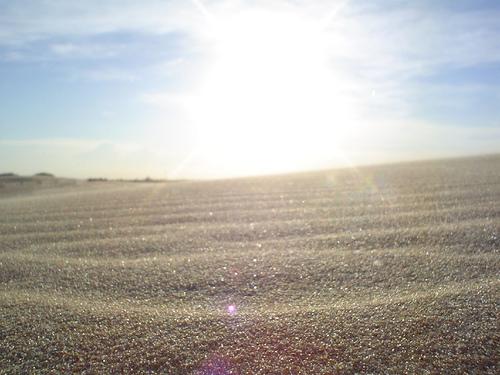 A sunny beach    Photo courtesy of ground.zero via Flickr