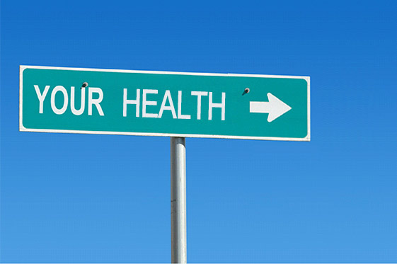 Your health sign